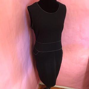 Milano Sheath Dress w/Pockets